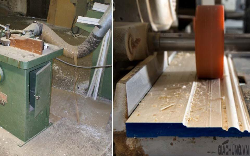 Sản xuất phào gỗ