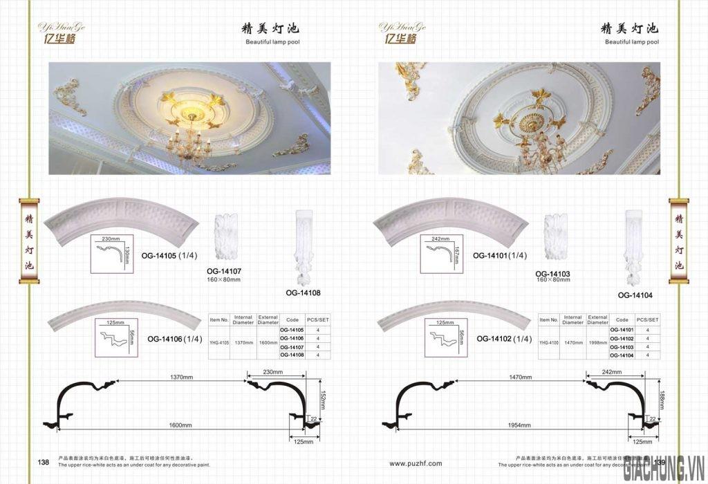 Mâm vòn trần OG - Gia Chung 4